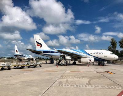 Vé máy bay Bangkok Airways